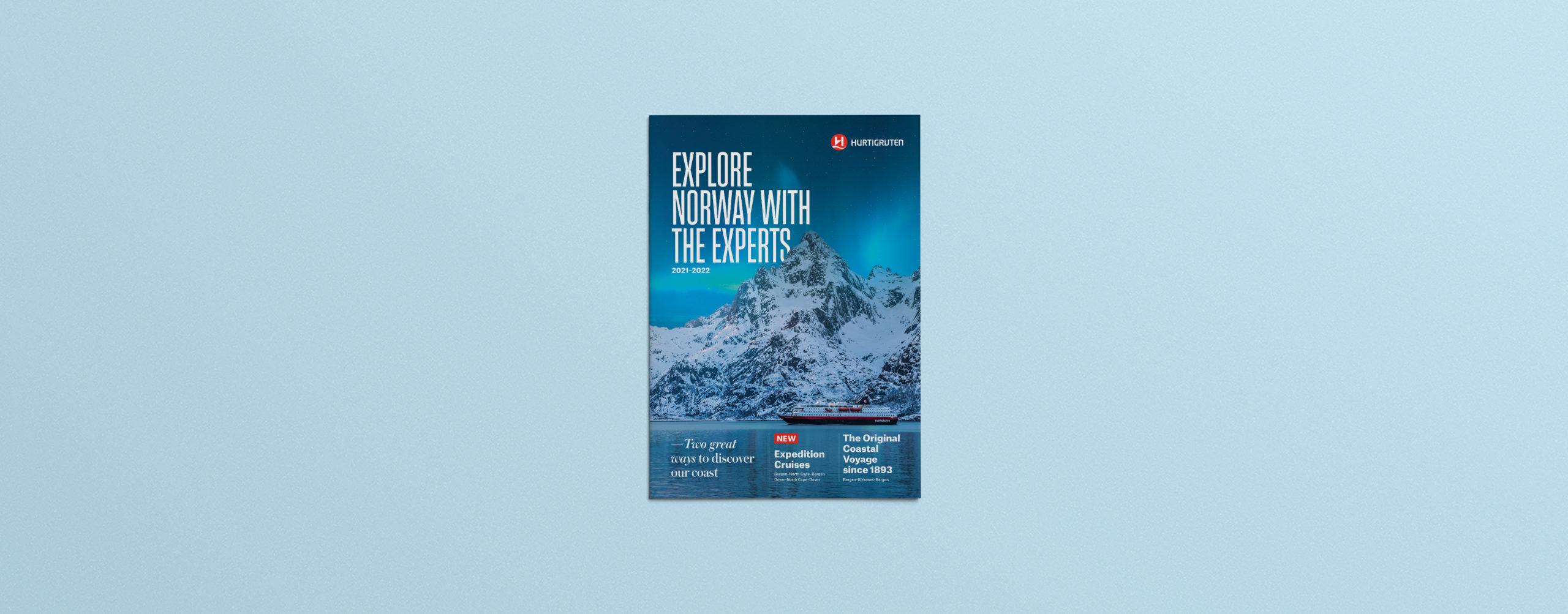 Hurtigruten Norway Travel Brochure