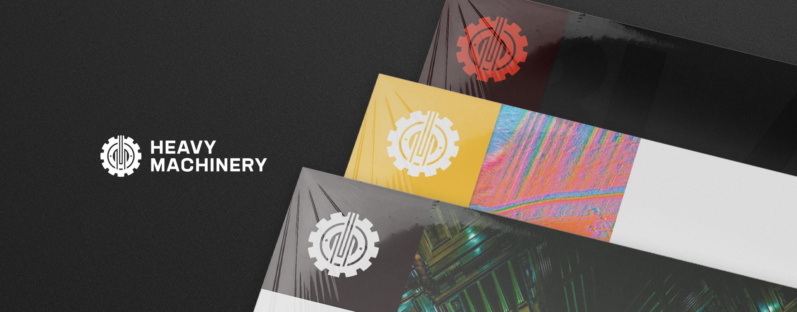 City of Melbourne Heavy Machinery Grand Organ Album Cover Record Design