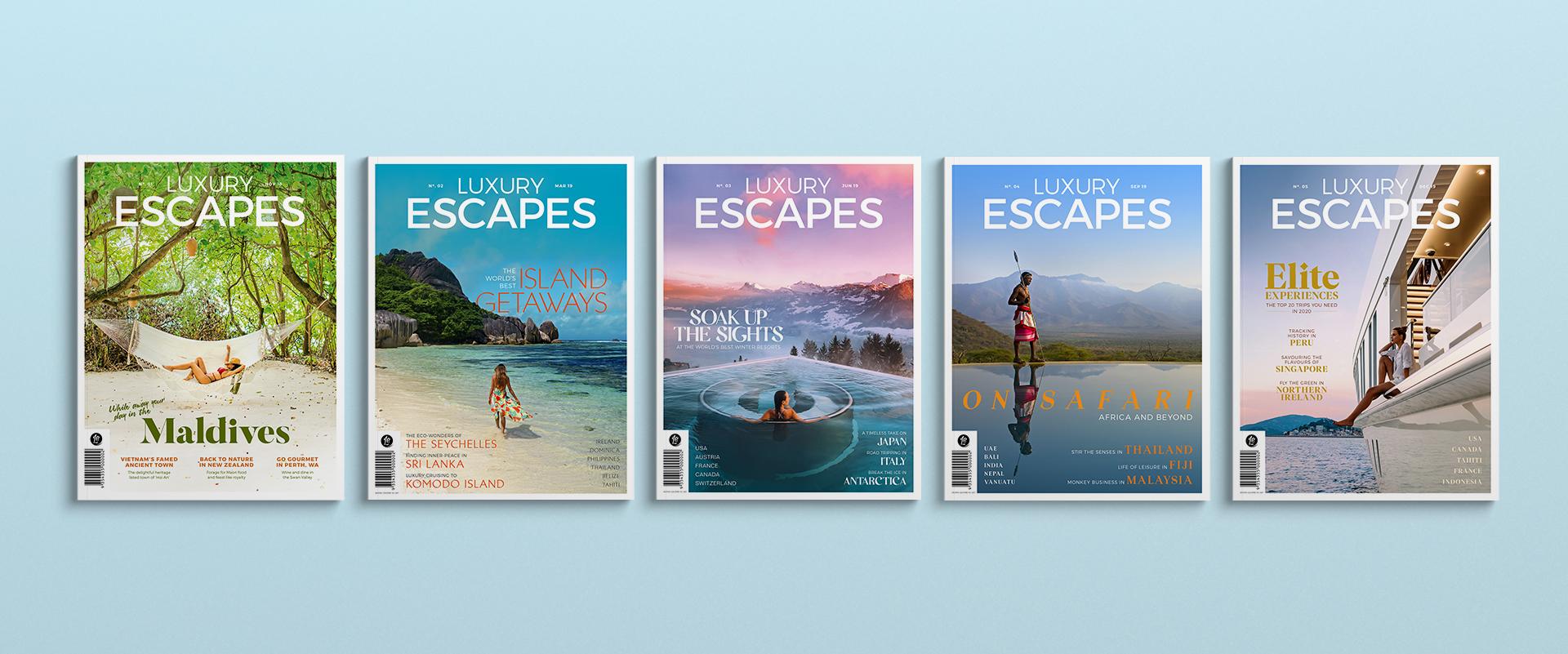 Luxury Escapes Travel Print Magazine